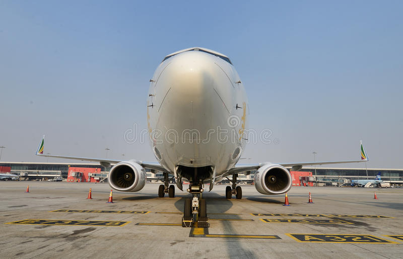 Boeing 737 royalty free stock photo