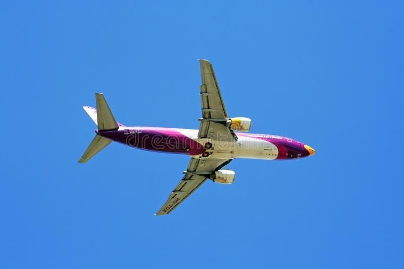 Boeing 737-400, nokair zdjęcie stock