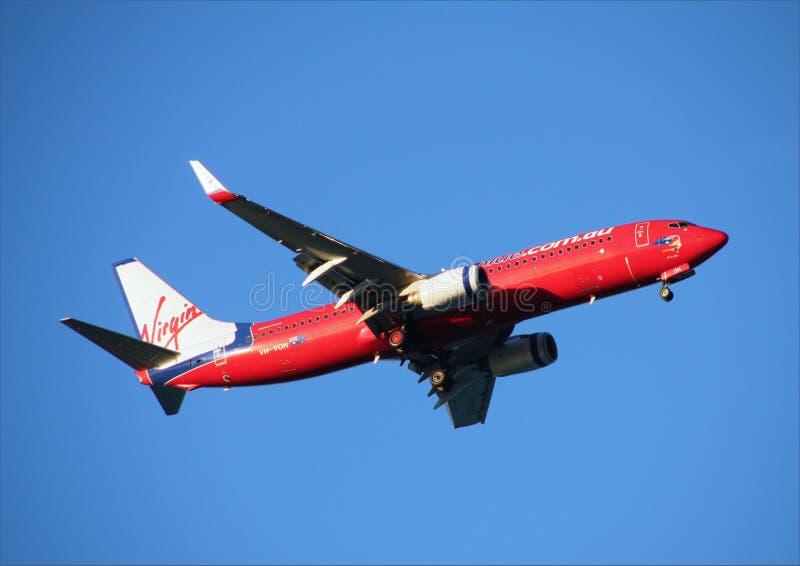 Boeing 737 fotografia stock libera da diritti