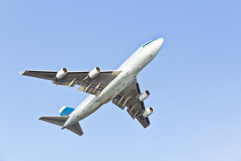 Boeing 747 images stock