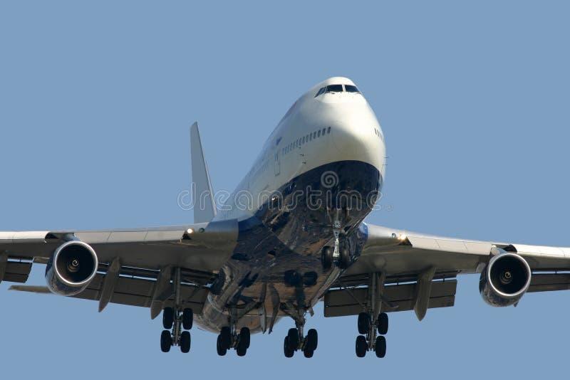 Boeing 747 stock photo