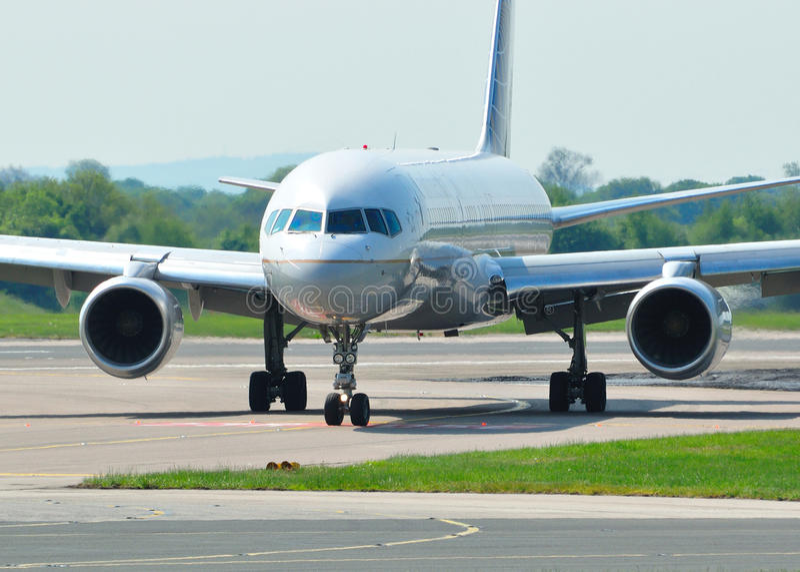 Boeing 757 stock afbeelding