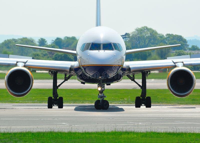 Boeing 757 photographie stock libre de droits