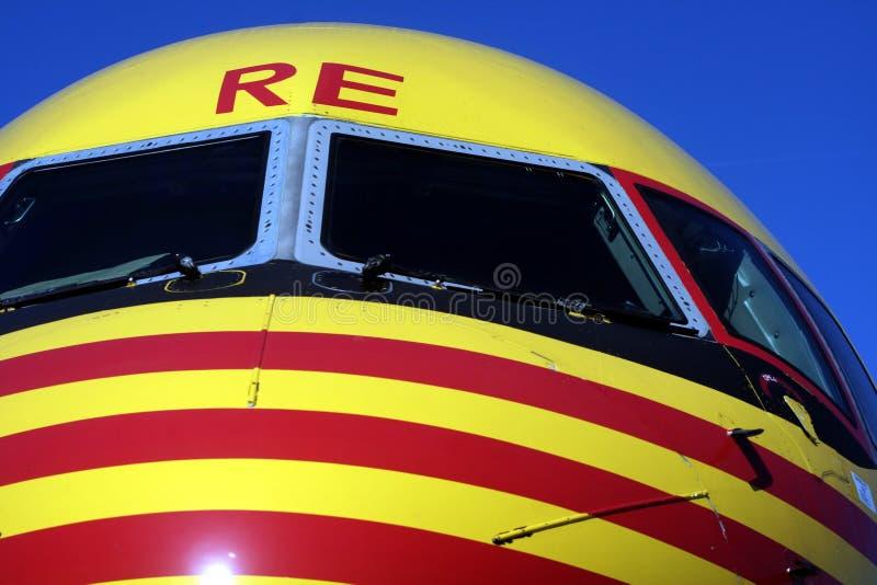 Boeing 757 fotografía de archivo libre de regalías