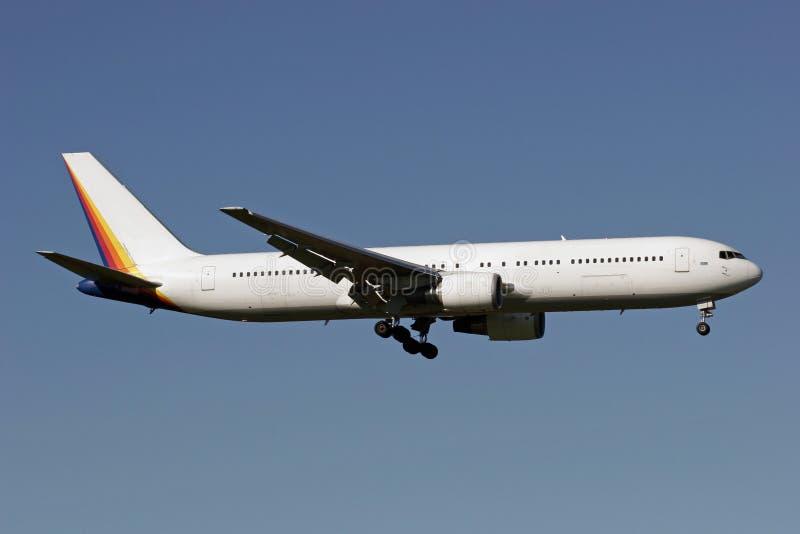 Boeing 767 fotografía de archivo libre de regalías