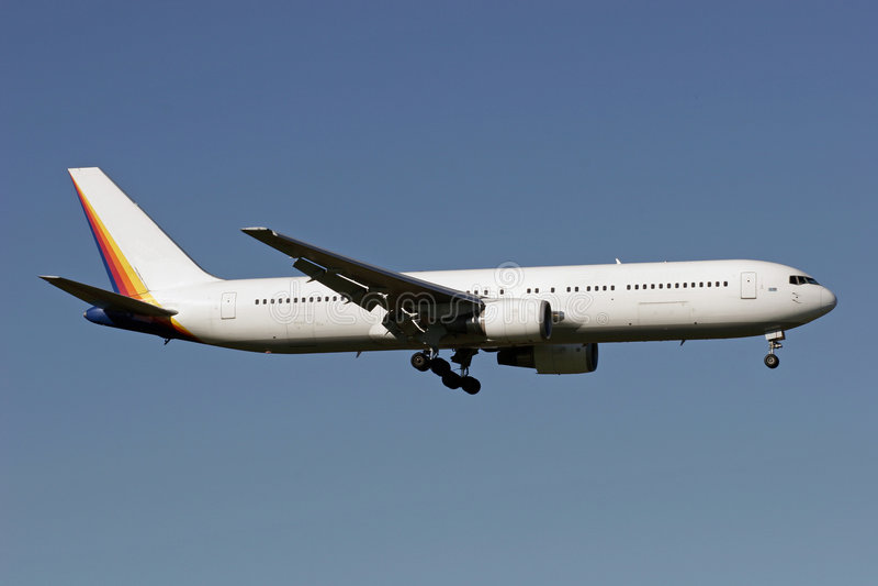 Boeing 767 fotografia de stock royalty free