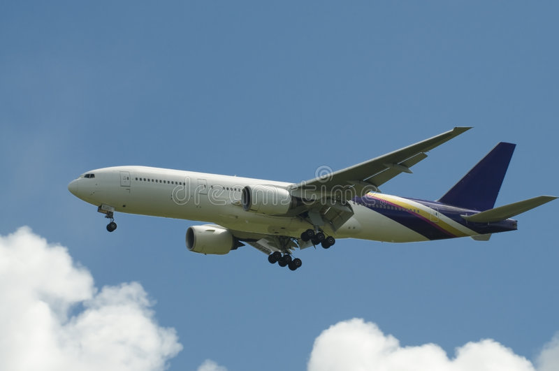 Boeing 777 images stock