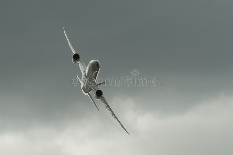 Boeing 787 Dreamliner royalty free stock image