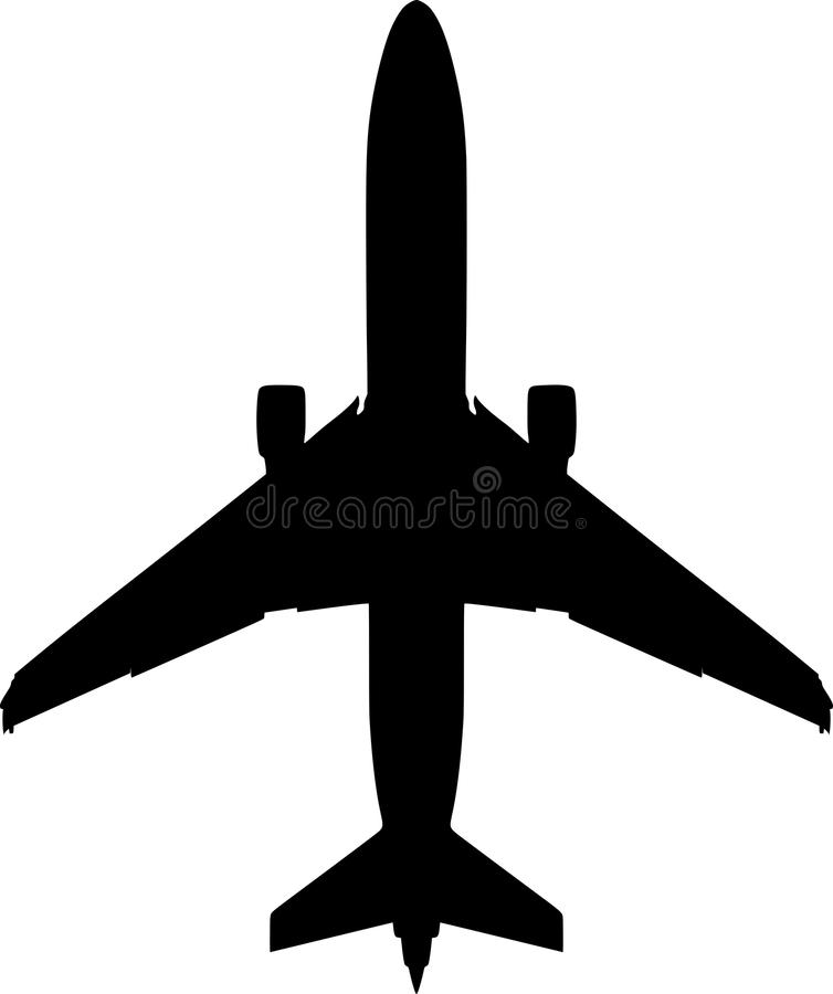 boeing airplane vector on white background stock vector rh dreamstime com airplane vector problems airplane vector graphic