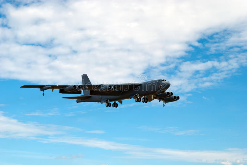 Boeing B-52 Stratofortress photographie stock