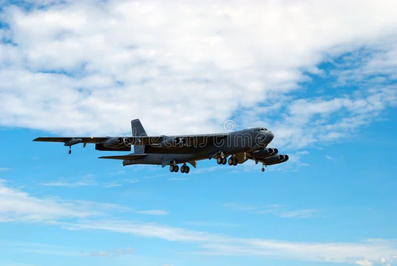 Boeing B-52 Stratofortress fotografia de stock
