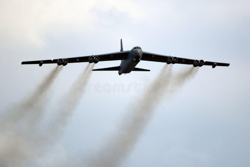 Boeing B-52 Aereo da bombardiere di Stratofortezza fotografia stock