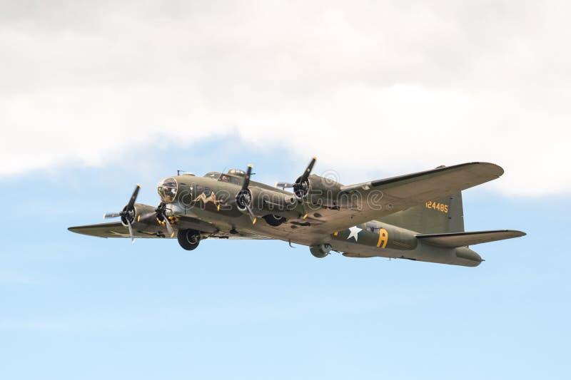 Boeing B-17 Vliegende Vesting stock foto's