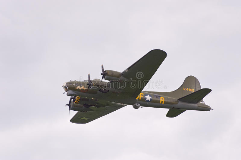 Boeing B17 Sally B stock images