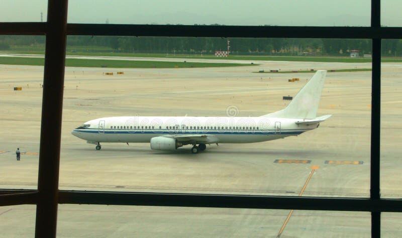 Boeing B737 stock afbeelding