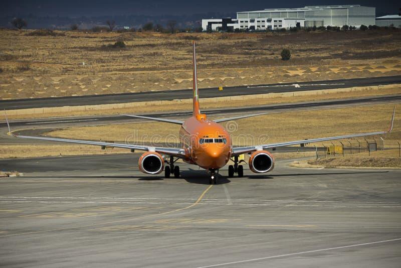 Boeing 737-8BG - ZS-SJO imagem de stock