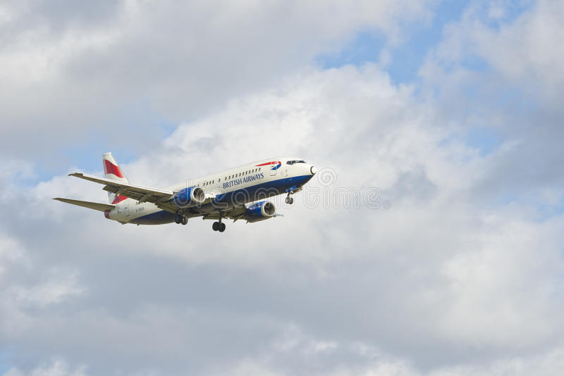 Boeing 737 436 British airways photo stock
