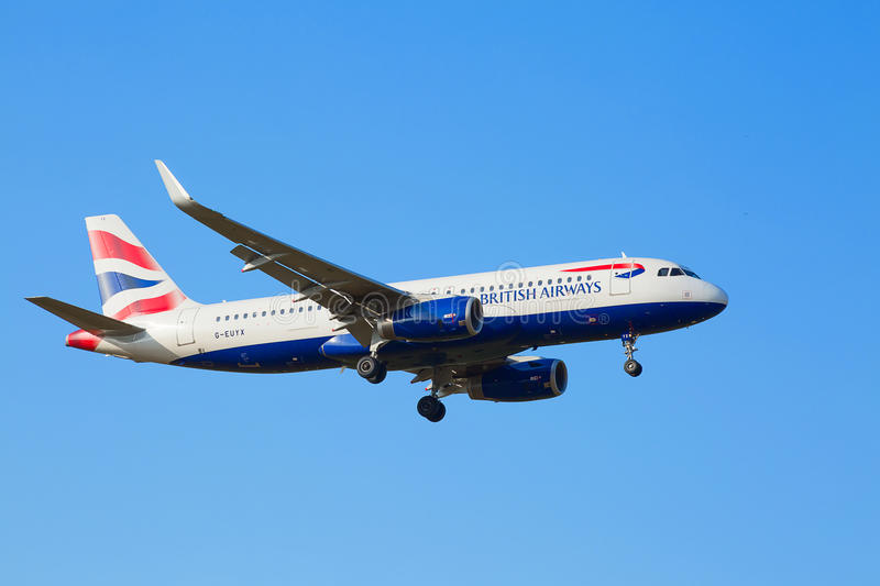 Boeing-737 British Airways photos stock