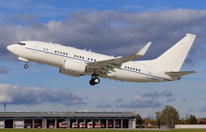 Boeing C-40 imagens de stock