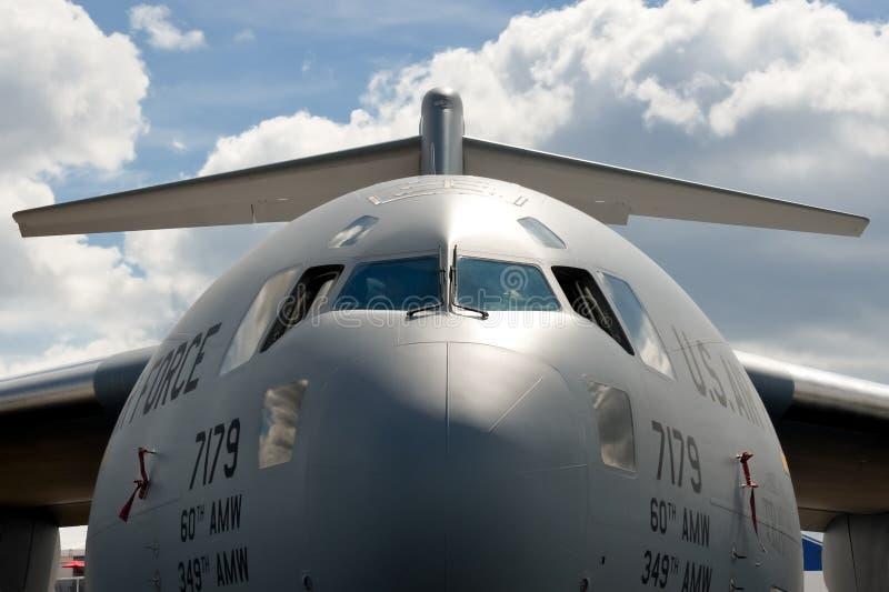 Boeing C-17 royalty free stock photo