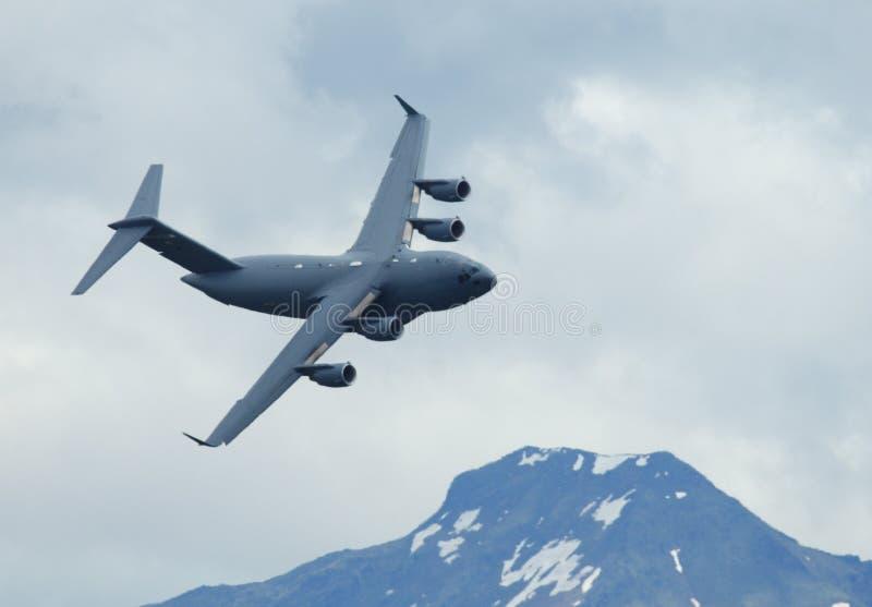 Boeing C-17 Globalmaster - royalty free stock photo