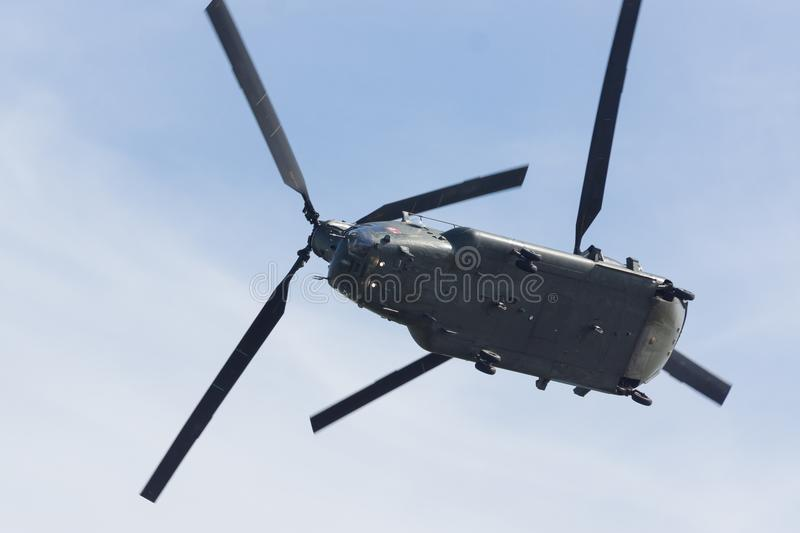 Boeing 47 ch chinook obrazy stock