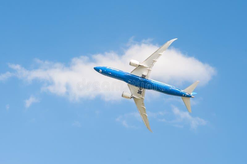 Boeing 787 Dreamliner photographie stock libre de droits