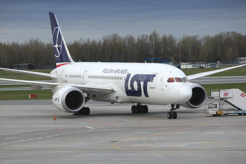 Boeing 787 Dreamliner lizenzfreie stockfotografie