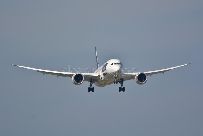 Boeing 787-8 Dreamliner stockbild