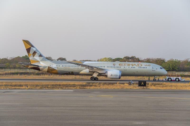 Boeing 787 Dreamliner stock afbeeldingen