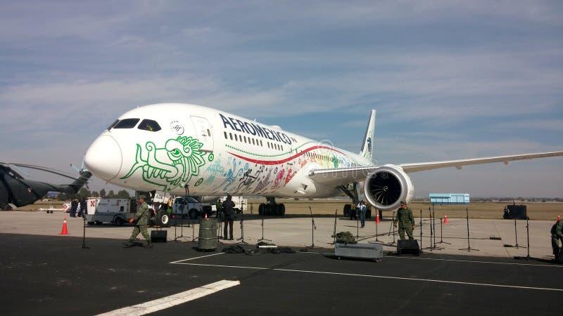 Boeing 787-9 Dreamliner imagem de stock