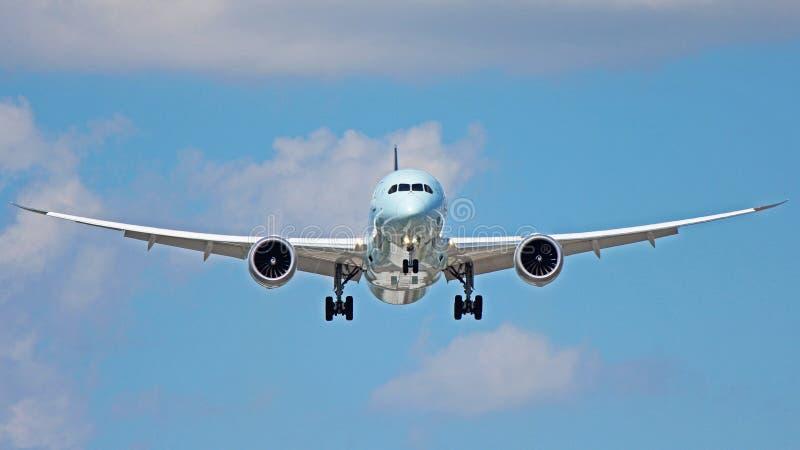 Boeing 787-9 Dreamliner royaltyfri foto