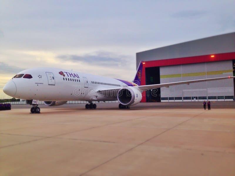 Boeing 787 dreamliner stock photos