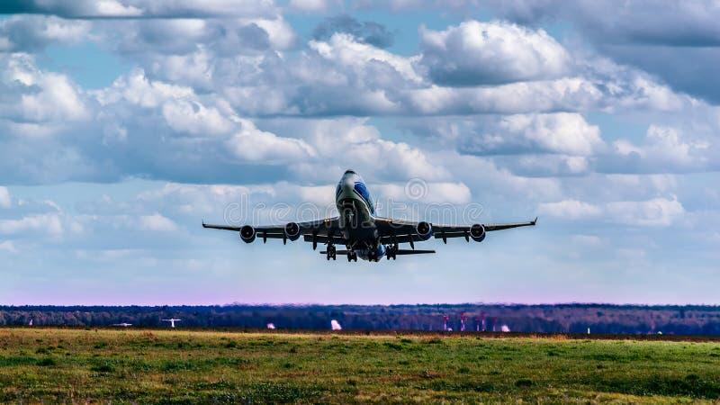 Boeing 747-400F ABC zdjęcie stock