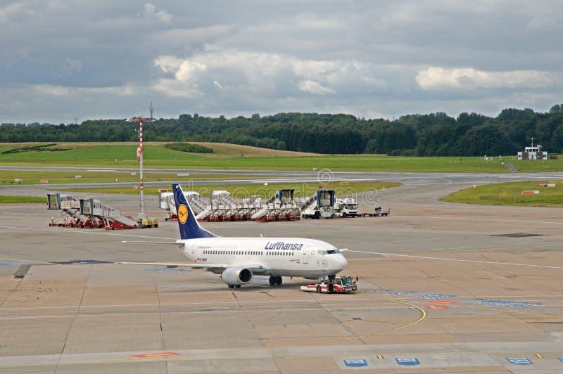 Boeing 737-300 Fulda imagem de stock