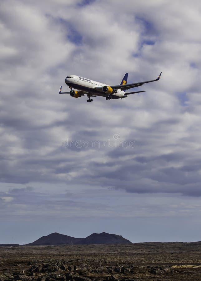 Boeing 767-300 - Icelandair royalty free stock images