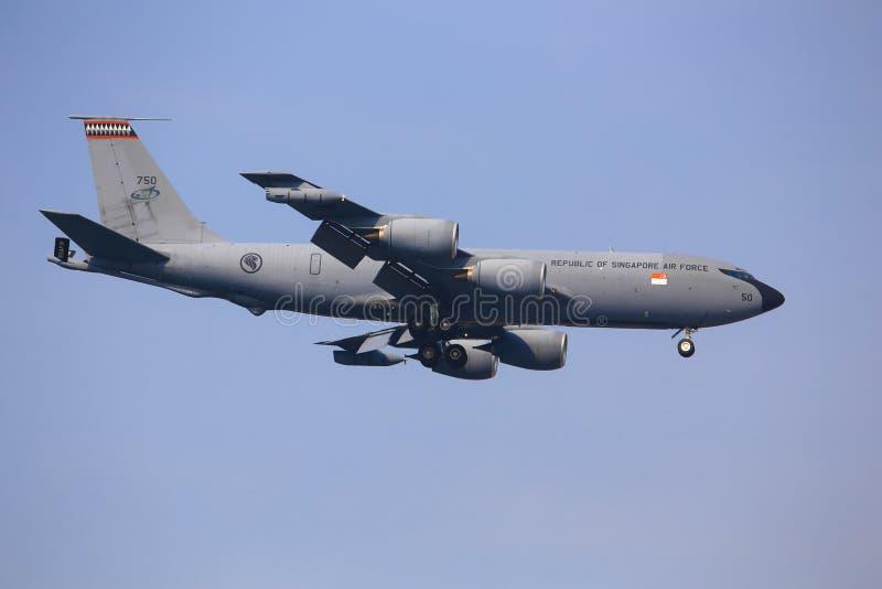 Boeing KC-135 Stratotanker stockbilder