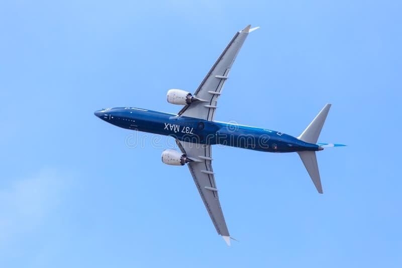 Boeing 737-9 máximo fotografía de archivo