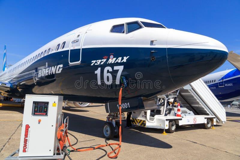 Boeing Maximum 737-9 stock foto's