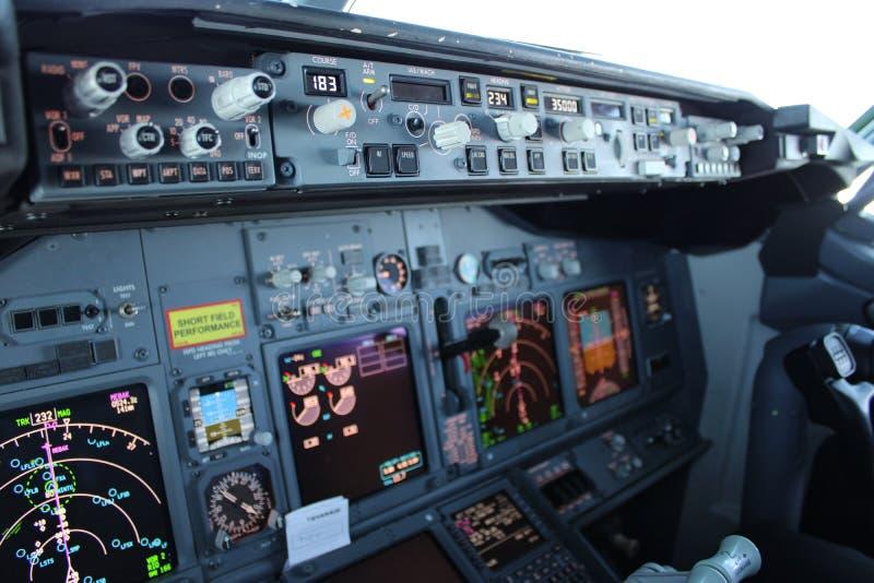 Boeing 737 MCP royalty-vrije stock afbeelding