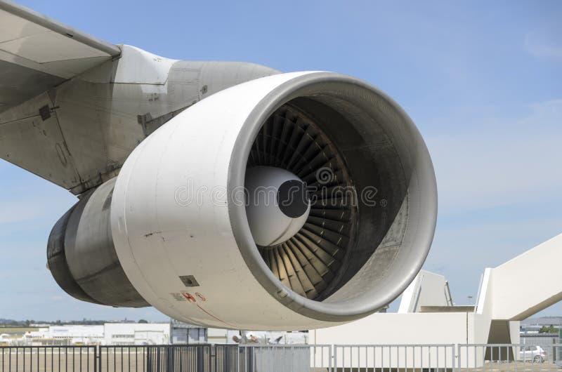 Boeing-Motor royalty-vrije stock fotografie
