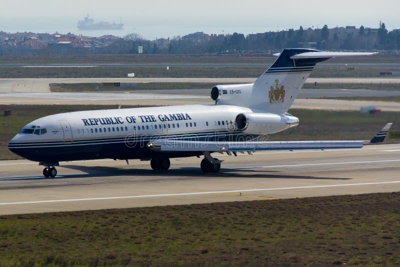 Boeing 727 nivå arkivfoton