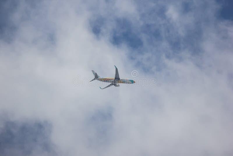 Boeing 737-800 NokAir linia lotnicza fotografia royalty free
