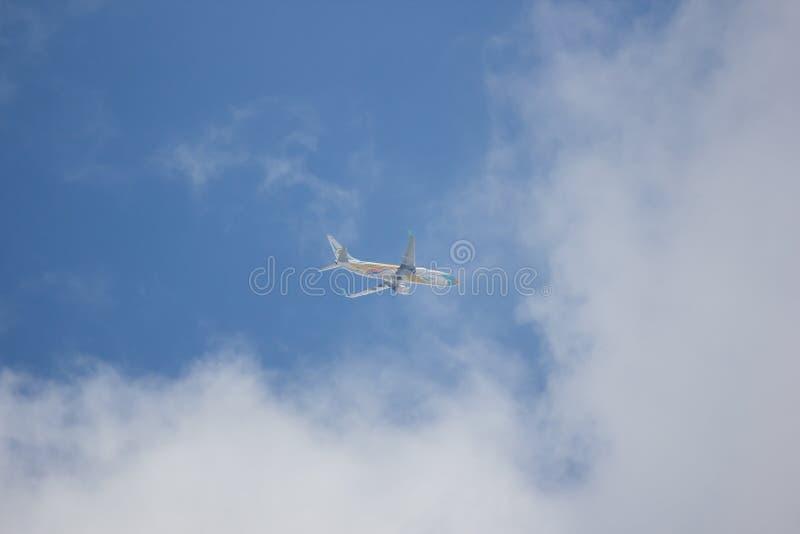 Boeing 737-800 NokAir linia lotnicza obrazy royalty free