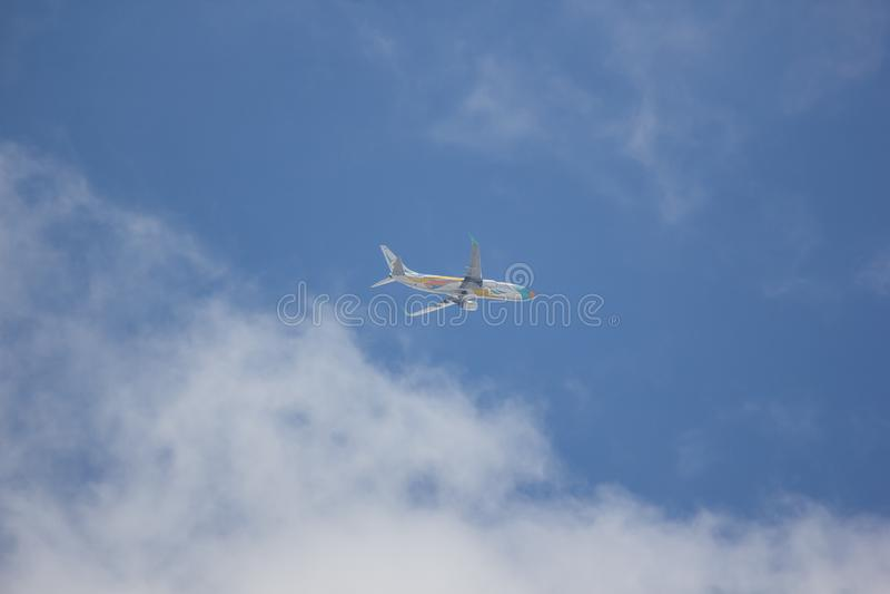 Boeing 737-800 NokAir linia lotnicza obraz royalty free