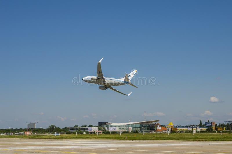 Boeing 737 od Tara firmy zdjęcia stock