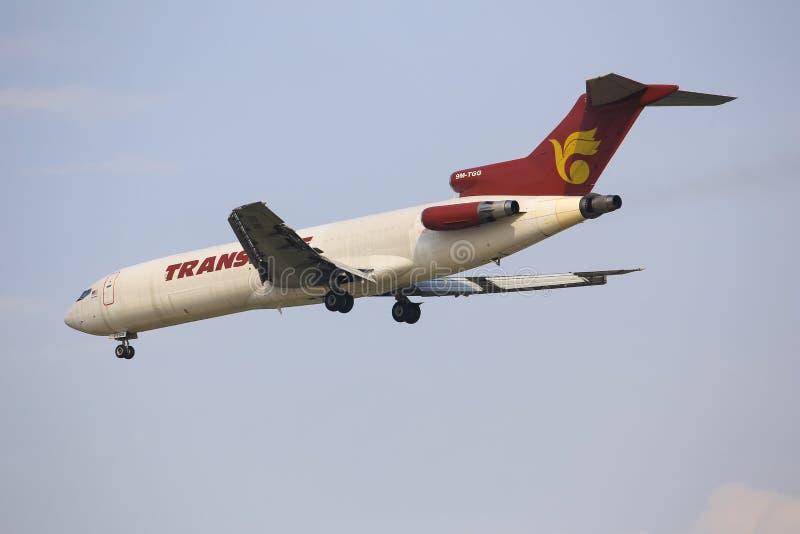 Boeing 727 Raya Airways, 9m-TGH imagen de archivo