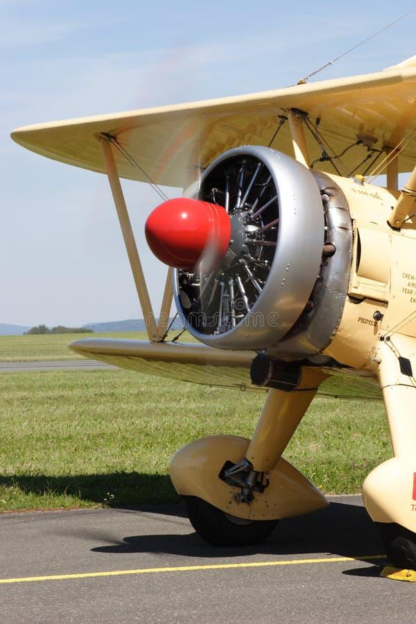 Boeing Stearman E 75 fotografía de archivo libre de regalías