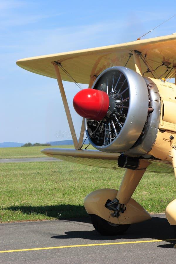 Boeing Stearman E 75 imágenes de archivo libres de regalías