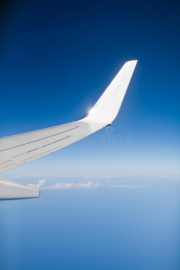 Download Boeing Wing stock image. Image of part, journey, cloud - 21655183